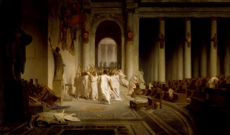 Jean-Léon_Gérôme_-_The_Death_of_Caesar_-_Walters_37884