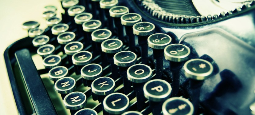 Five Things I Learned in the Age of the Typewriter